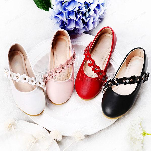 eDressit Round Toe Children Lovely Girl Princess Party Shoes (250041)