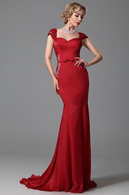 eDressitHerzausschnitt Rückenfrei Ärmellos Formal Abendkleid(02152702)