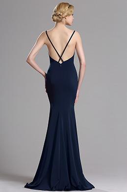eDressit Navy Blue Strapped Mermaid Evening Prom Dress (00163405)