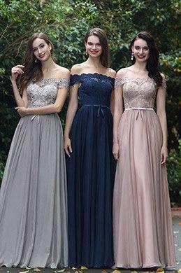 eDressit Navy Blue Off Shoulder Lace Formal Dress (02171905)