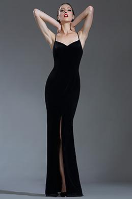 eDressit Noire Robe de Soirée Sexy avec Bretelles Fines (00181700)