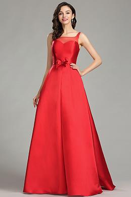 eDressit Nouveauté Rouge Robe de Bal Romantique Pour Fête (02181102)
