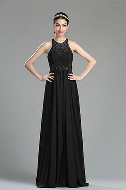 eDressit Black Beaded Sequin Evening Dressing Gown (36181100)