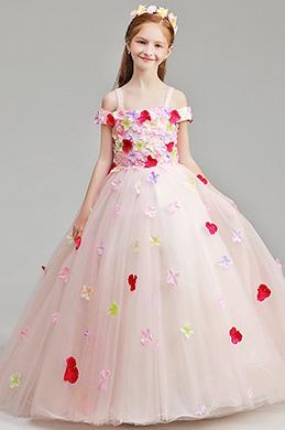 eDressit Lovely Flora Long Wedding Flower Girl Dress (27197201)