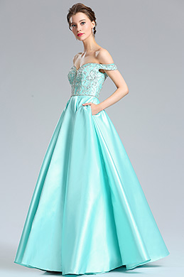 eDressit Sexy Off the Shoulder V Cut Puffy Prom Party Dress (36184432)