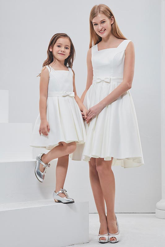 New Mommy and Me Matching Dress for Mother and Daughter (T400307)